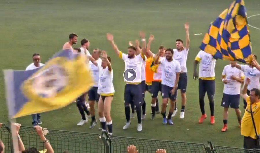"""Biancavilla """"D…ivino"""", gialloblù nel calcio che conta"""