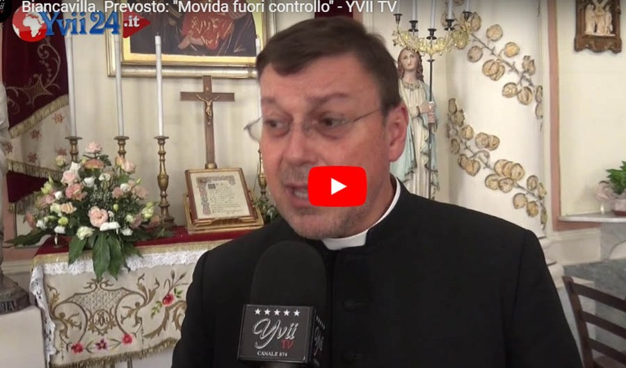 Biancavilla. Festa estiva Madonna dell'Elemosina 2019, intervista a padre Salerno