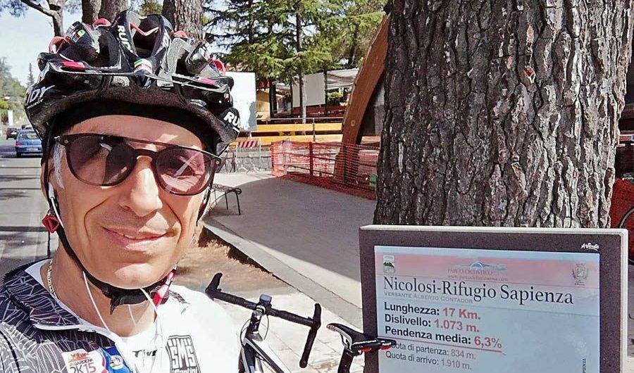 Agrigento, travolto e ucciso il ciclista adranita Vincenzo Cappella