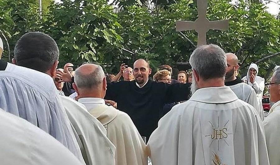 "Belpasso. Salvatore Pellegrino, monaco secondo la regola benedettina ""ora et labora"""
