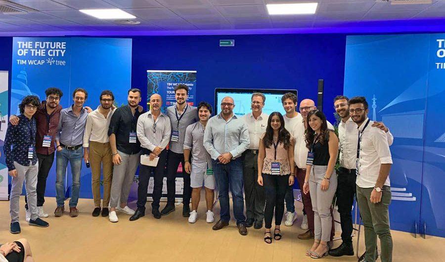 """Catania. """"The future of the city"""": Horavision e SITe vincono il Premio ENISIE al TIMWCAP"""