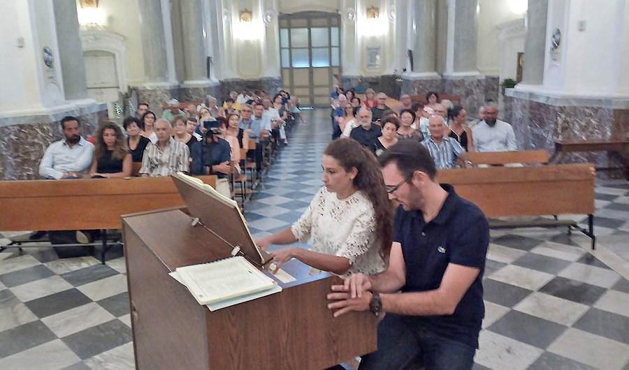 Motta Sant'Anastasia. Concerto inaugurale dell'organo della chiesa Madre