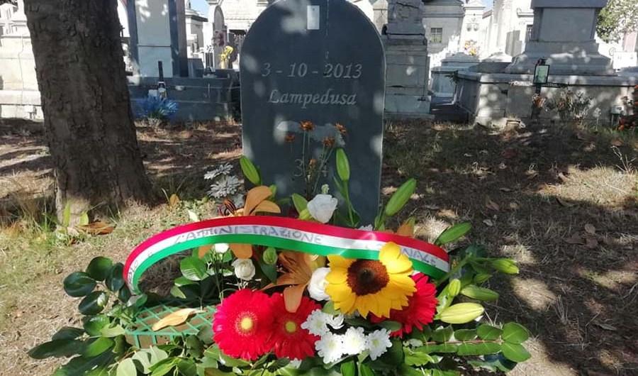 Belpasso. Commemorati i migranti vittime del naufragio del 3 ottobre 2013