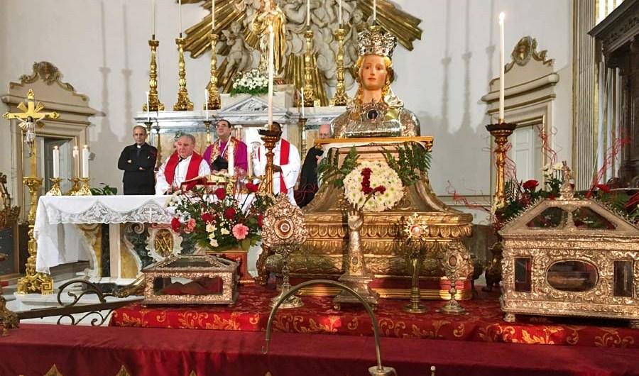 Belpasso. Aperti i festeggiamenti di santa Lucia con il cuore a Venezia