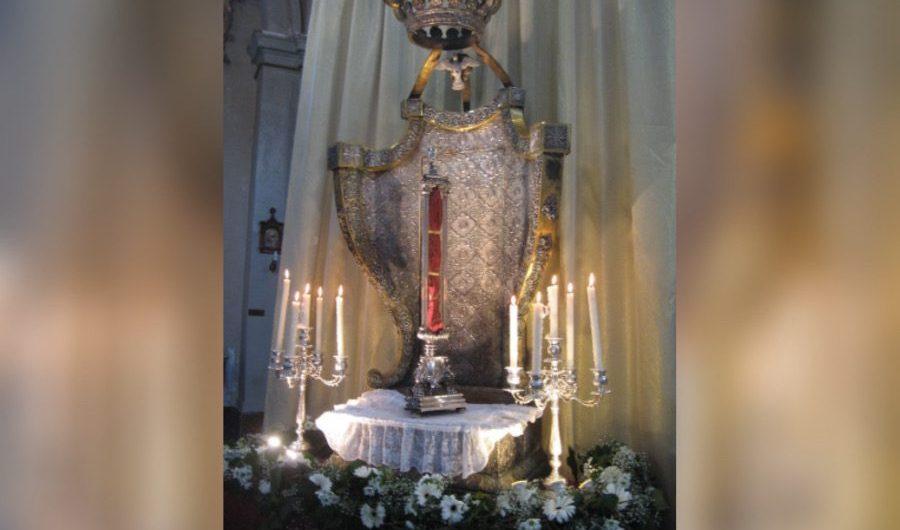 Biancavilla. Il velo di Sant'Agata all'Idria e dalle Clarisse