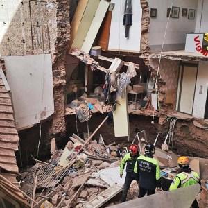 Catania, crollo parziale di una palazzina