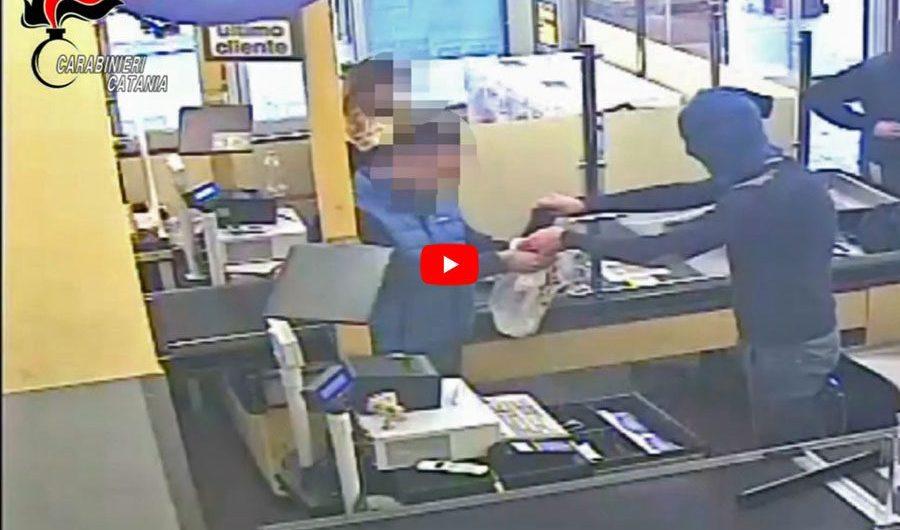 Paternò. Arrestati due rapinatori: stavano per assaltare una farmacia