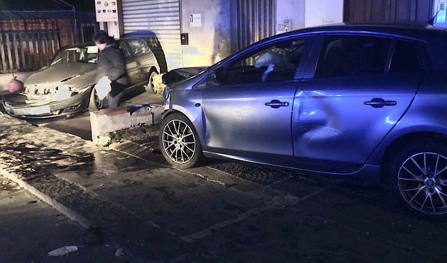 Adrano. Grave incidente in via Cappuccini