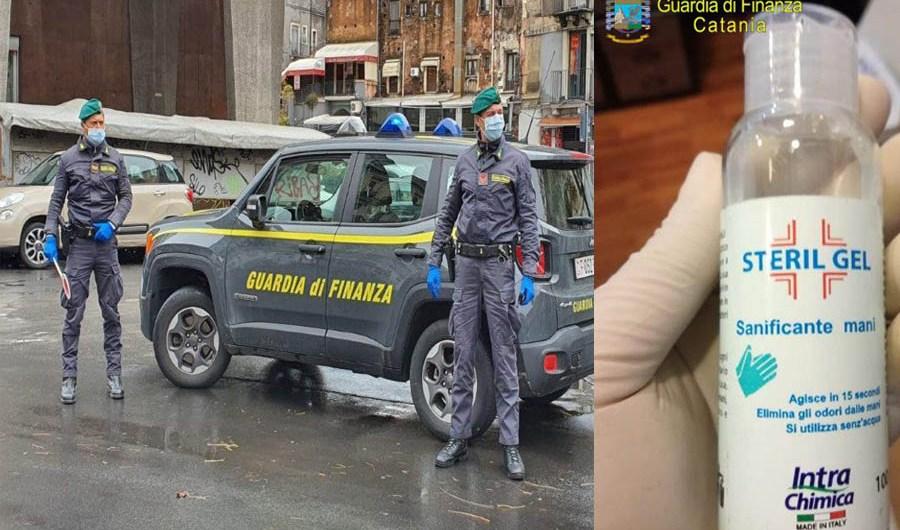Catania. Sapone pubblicizzato come igienizzante: Gdf denuncia due persone