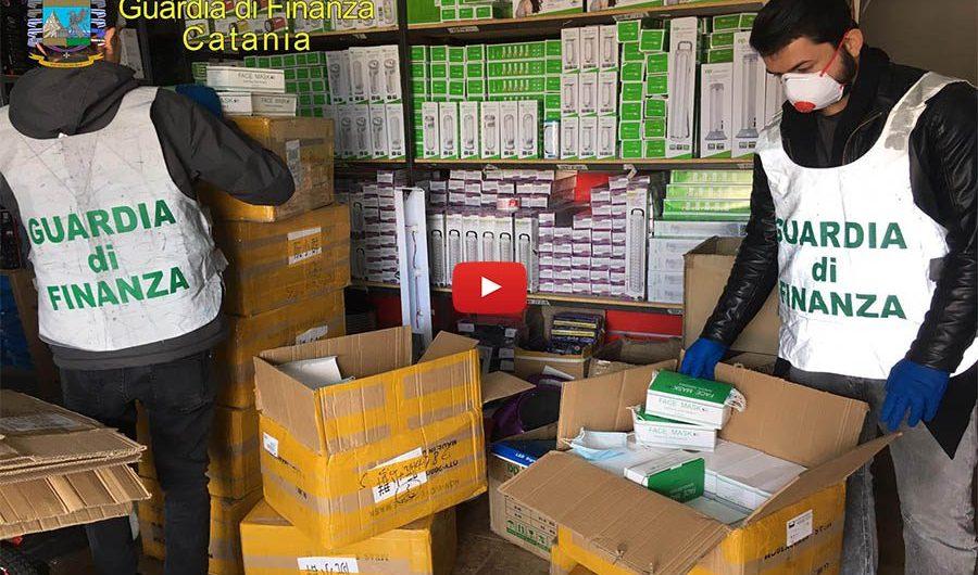 Coronavirus. Maschere nocive e non sicure, maxi sequestro della Guardia di Finanza di Catania