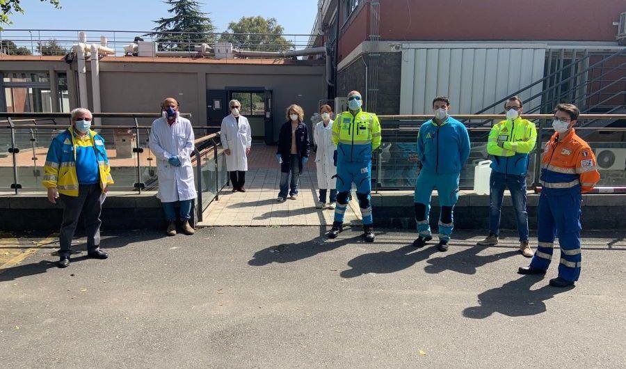 Coronavirus. Università di Catania dona igienizzante alle Misericordie