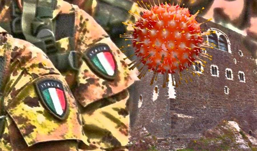Paternò. M5S chiede l'Esercito per contenere Coronavirus