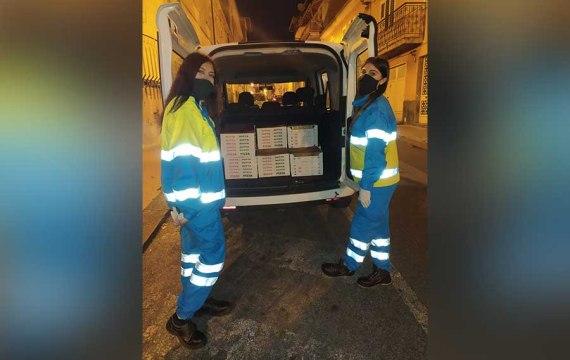 Santa Maria di Licodia. Ristorante dona 70 pizze ai più bisognosi tramite la Misericordia