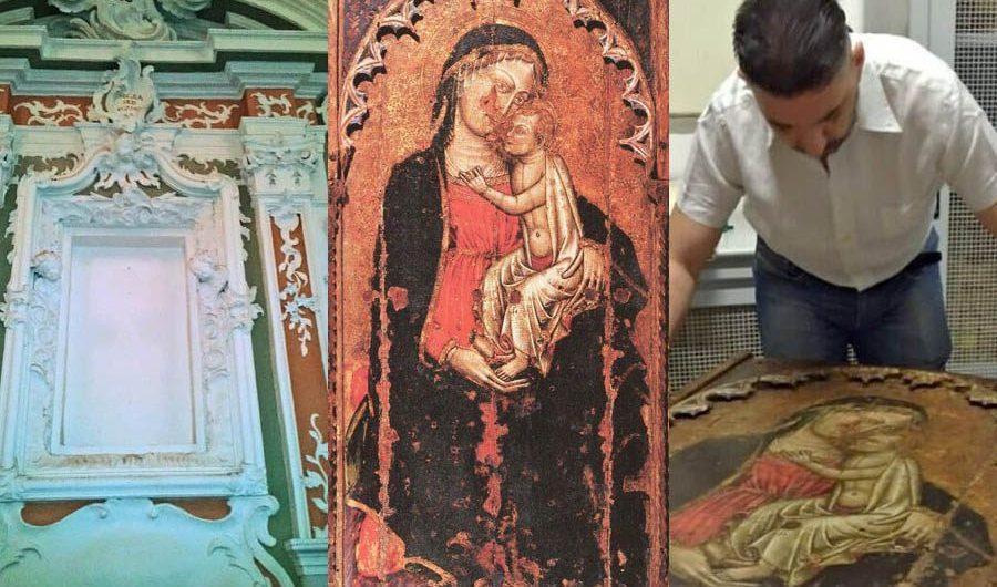 """La sublime """"Madonna delle Grazie"""" dei Cappuccini, un dipinto del '400 non più a Paternò"""