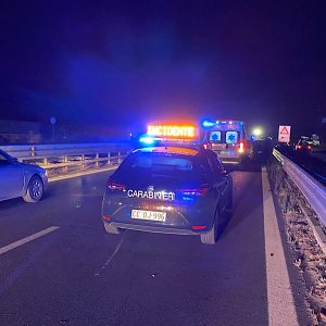 Ss121. Grave incidente in territorio di Belpasso