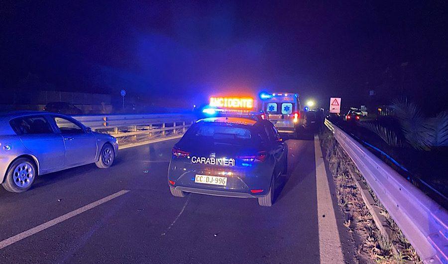 Ss121. Grave incidente in territorio di Belpasso