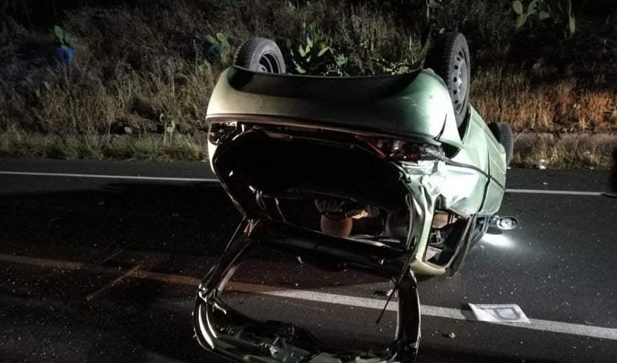 Ss284. Violento incidente autonomo tra Adrano e Bronte