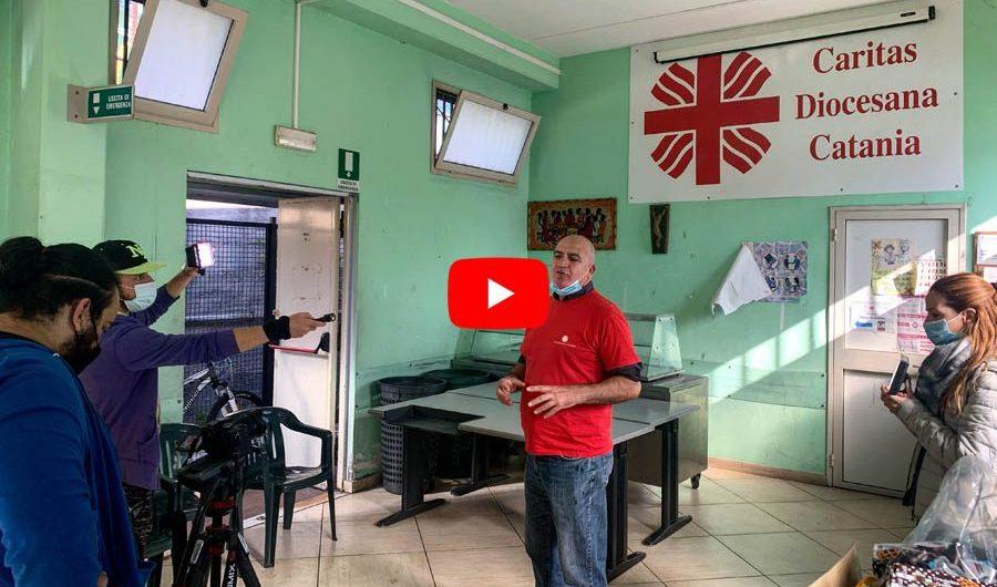 Catania. L'attività all'Help Center della Caritas in un mini documentario
