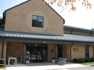 Outside upper dublin library