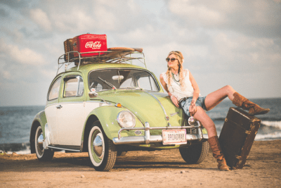 Woman and VW