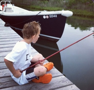 Justus fishing