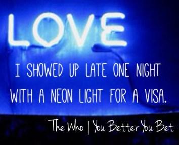 LOVE neon BIG