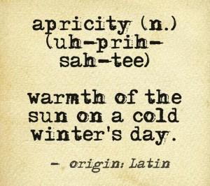 apricity