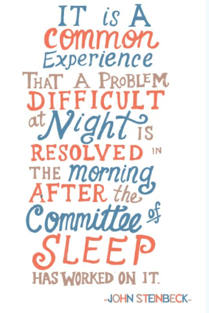 sleep committee