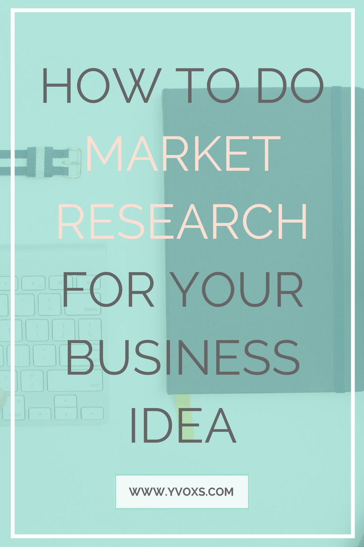 They always talk about market research, but do they ever tell you what it really is? It's really not that scary - Learn how you can do market research for your business! #business #marketing #businesstips #blogger #onlinebusiness