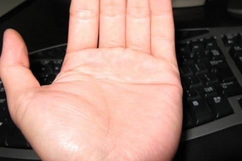 男人左手斷掌紋男人斷掌手相圖解_圖解大全