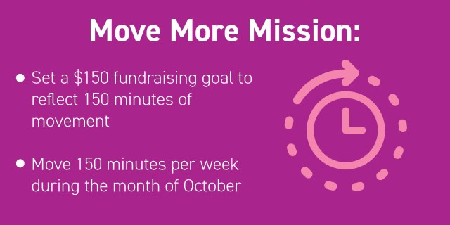 Move More Mission infographic
