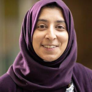 Dr. Sarah Khan headshot