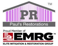 Paul's Restoration logo