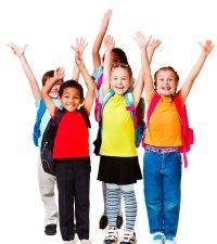 School-Kids-Cheering