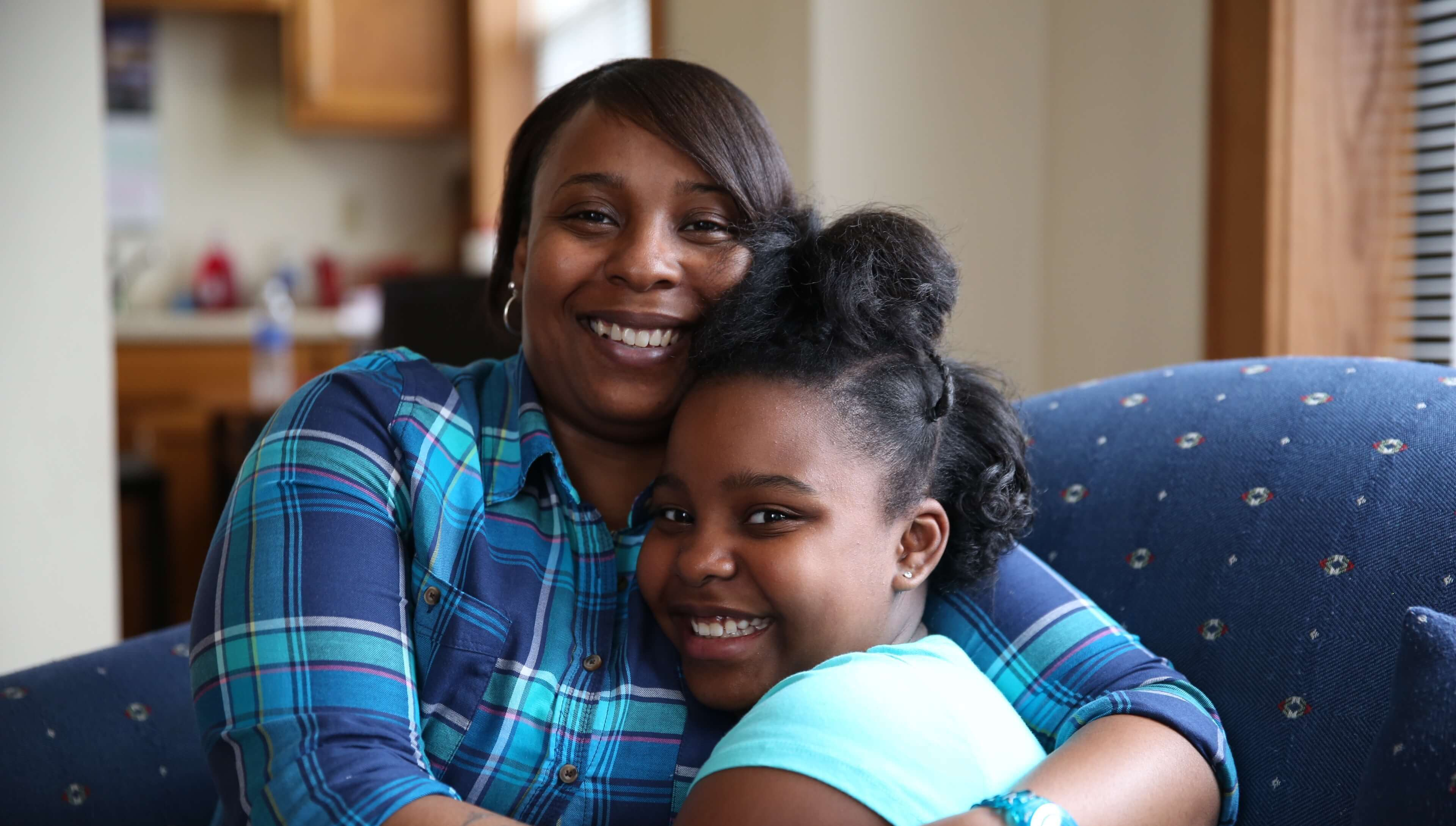 Shalonda and her daughter