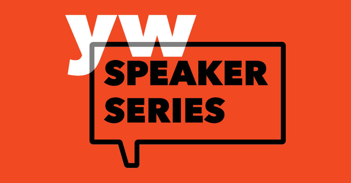 YW Speaker Series header