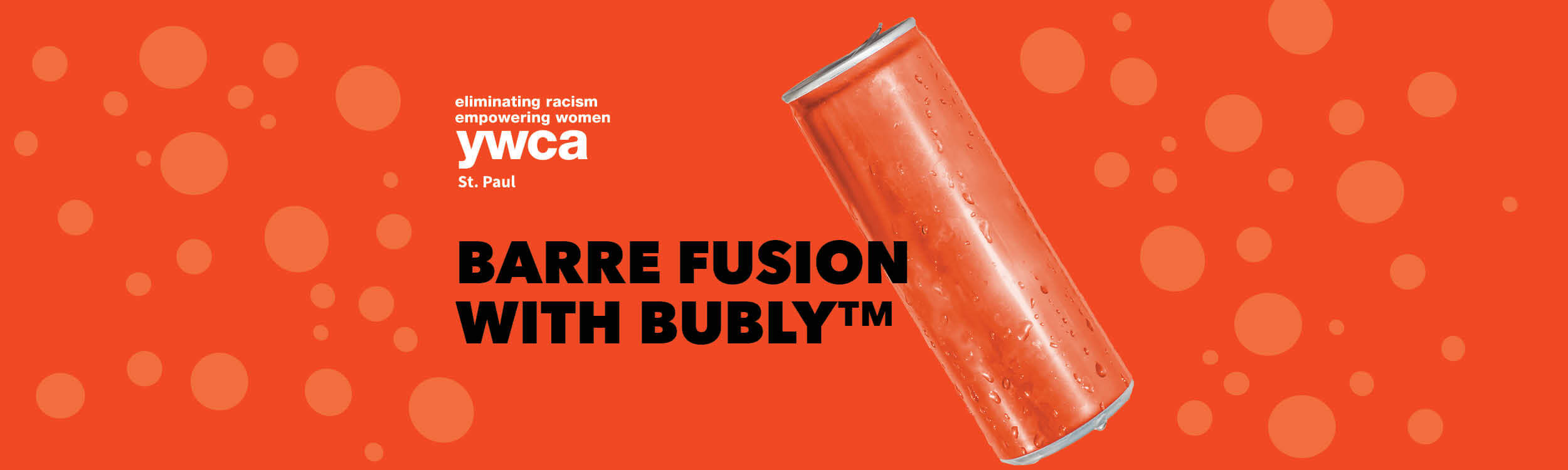 barre fusion with Bubly background image