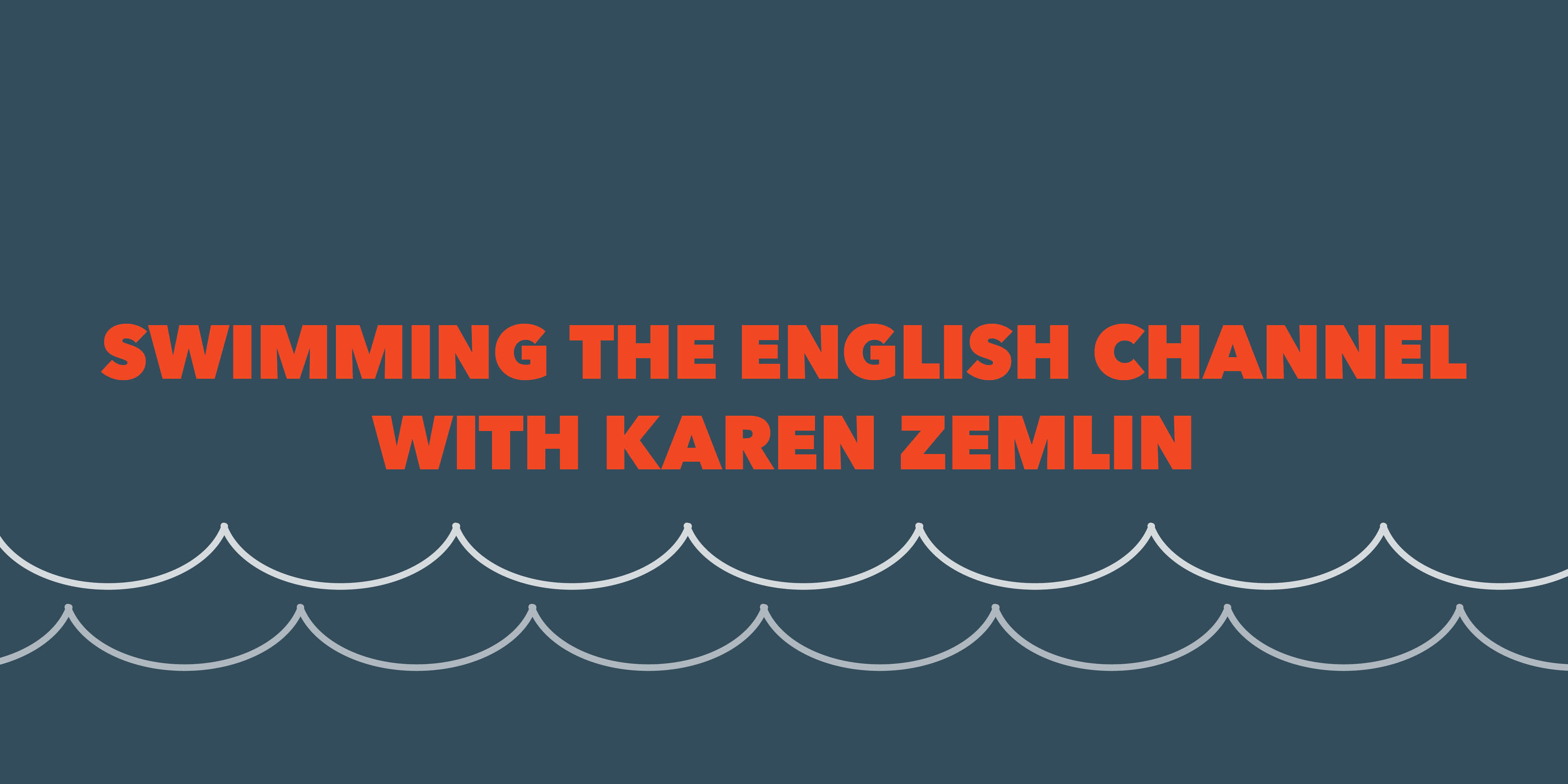 Swimming the English Channel blog header image