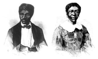 Portraits of Dred and Harriet Scott