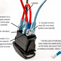 Illuminated Rocker Switch Wiring Diagram Hydraulic Fracturing Bilge Auto Man Carling Contura Ii