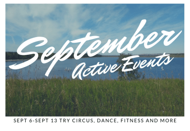 Calgary Active Events Sept 6-13