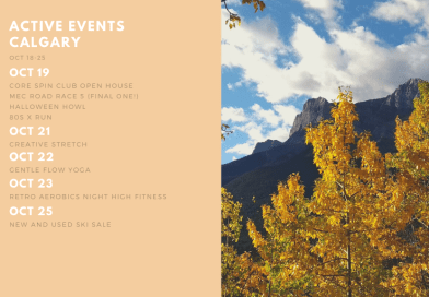 Active Events in Calgary Oct 18-25