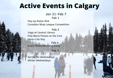 Active Events in Calgary Jan 31- Feb 7