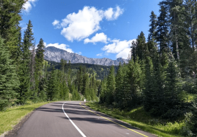 Everything You Need to Know About Biking the 1A/Road to Johnston Canyon