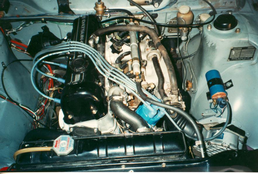 1995 Mustang Fuse Box Location Adding Efi To The Datsun L20b Z Car