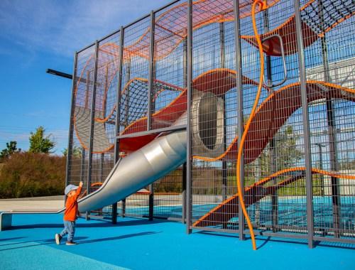 plac zabaw park czyżyny