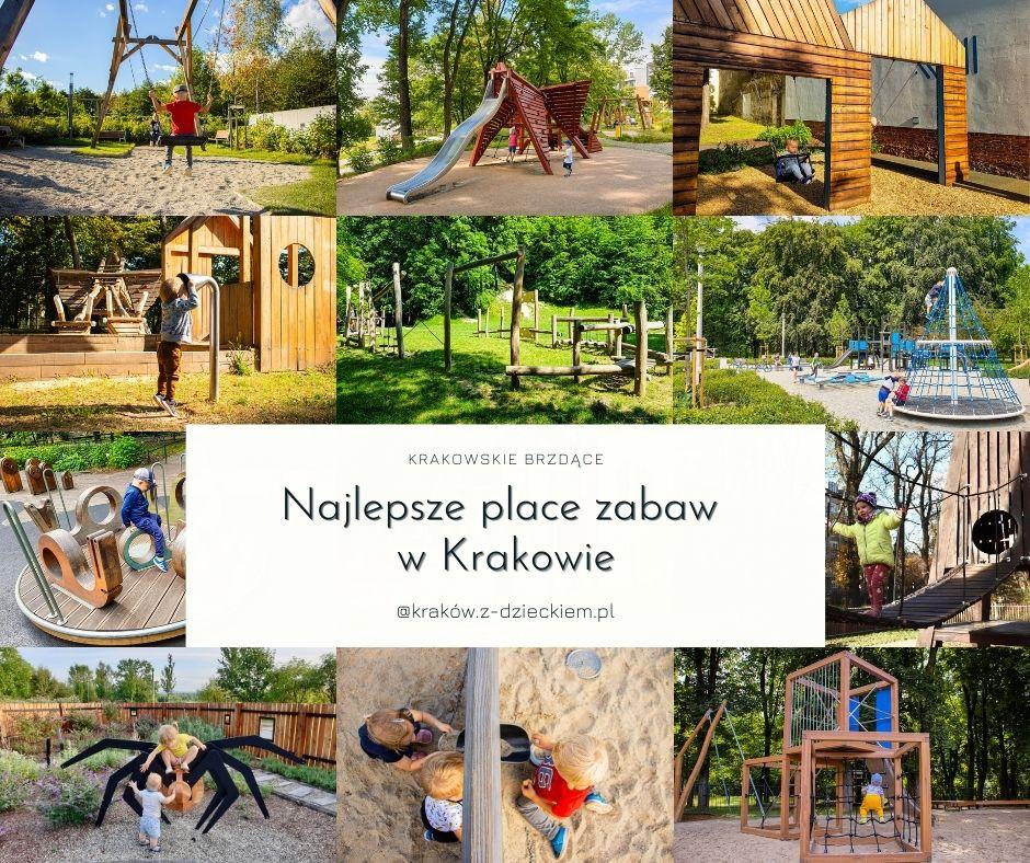 najlepsze place zabaw w Krakowie