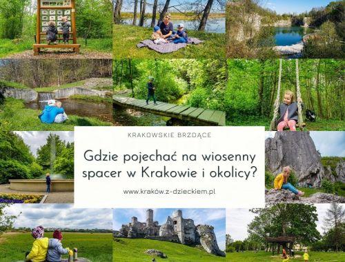 gdzie na spacer Kraków i okolice