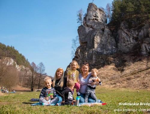 Dolina Kobylańska z dziećmi