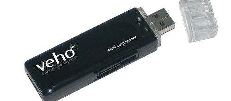 Z-mall USB Card Reader Veho MRF.A.001686